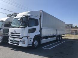 UDトラックス クオン 増トン13.1tウイング 格納パワーゲート 7507