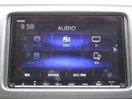 DVD、CD、ラジオ、フルセグTVの視聴、BluetoothAudioの接続が可能な純正メモリーナビです!