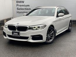 BMW 5シリーズツーリング 523d Mスピリット ディーゼルターボ 認定保付ヘッドアップディスプレイACCETC