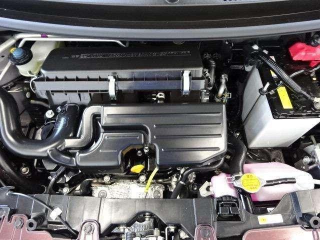 アイドリングストップ機構搭載!エンジンルーム内も高品質カー洗浄技術「まるまるクリン」実施済みです!