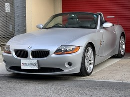 BMW Z4 ロードスター2.5i 1オーナー 黒革 電動TOP 18AW