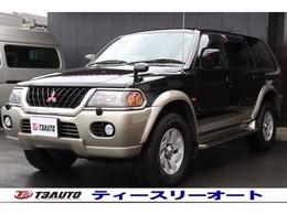 三菱 チャレンジャー 3.5 X 4WD ワンオーナー/禁煙/最終モデル/純正アルミ