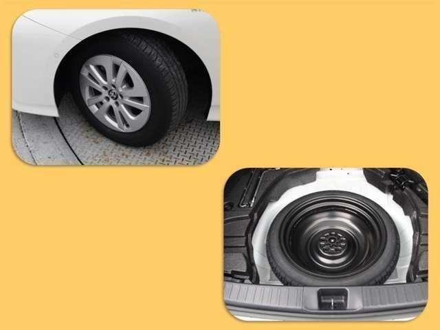 タイヤサイズは195/65R15!納車前の点検時にタイヤ交換させていただきます!