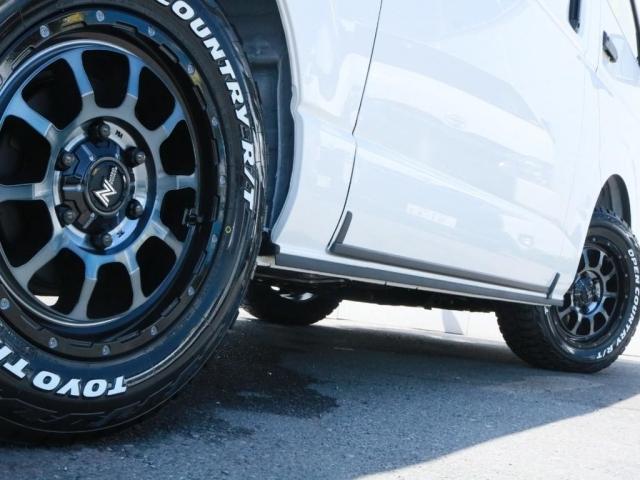 ナイトロパワーM10AW(16インチ)にオープンカントリータイヤを装着!