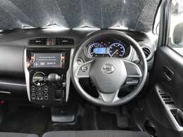 運転席・助手席Wエアバッグ 左側にあるステアリングスイッチでオーディオ系の操作も出来ます~♪