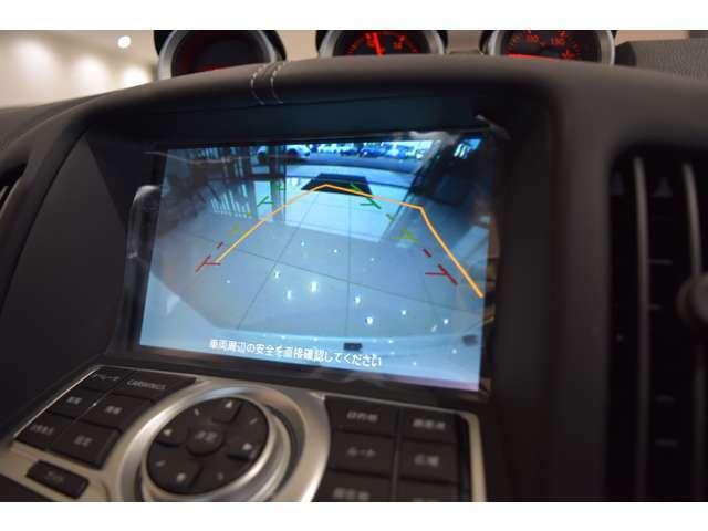 バックビューモニターはステアリングの操舵角に合わせてアシストラインで進行方向を示してくれます^^パーキングも安心ですね!