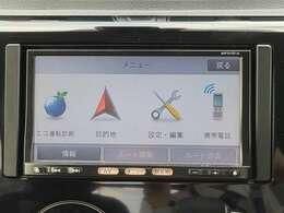 Bluetooth、フルセグTV内蔵でナビとしての機能だけでなく、あなたのドライブを快適にサポートしてくれます♪さらに高性能のナビを取り付けることも可能ですので、詳しくはスタッフまで!