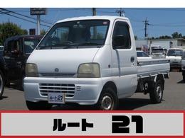 スズキ キャリイ 660 KD(エアコン付) 3方開 5速MT カセットデッキ