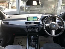 H28年式 BMW X1 sDriveMスポーツ 入庫致しました。お問い合わせは052-625-4092まで!純正ナビ ワンオーナー バックカメラ コンフォートアクセス インテリジェントセーフティ 純正OPAW LEDヘッドライト