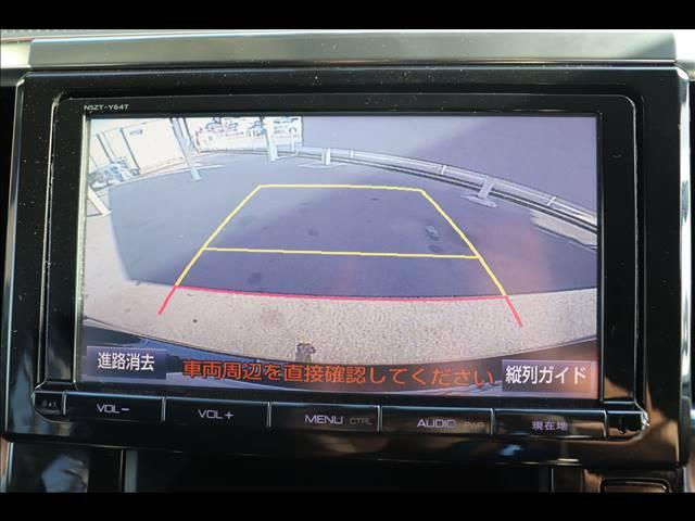 バックカメラも装備ですので駐車時も安心ですね★