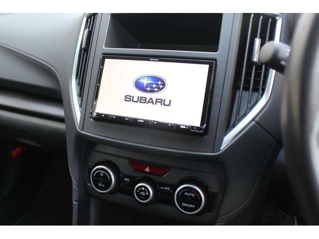 【ナビゲーション】ケンウッド製メモリーナビ(社外品)を装備(KXM-H703)、フルセグTV、DVD再生、ブルートゥース接続等AV機能も充実の高機能なナビゲーションです!
