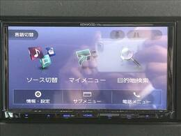 Kenwood7型ナビを装備。フルセグTV、ブルートゥース接続、DVD再生可能、音楽の録音も可能です。