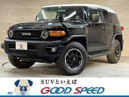 トヨタ FJクルーザー 4.0 ブラックカラーパッケージ 4WD ワンオーナー 純正ナビTV バックカメラ