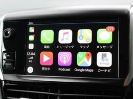 お好きな音楽でドライブを楽しめるApple CarPlayも使用可能!