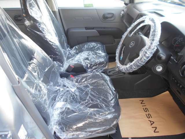 運転席も広々でゆったりとした気分で運転できます☆