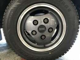 ホイールリペア(剥離再塗装)、タイヤ交換、ステアリングダンパー交換、トラックロッドエンド交換、タイロットエンド交換、ブレーキパッドFR交換、ブレーキオイル交換