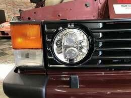LEDヘッドライト交換、コーナー・サイド・テールレンズ交換