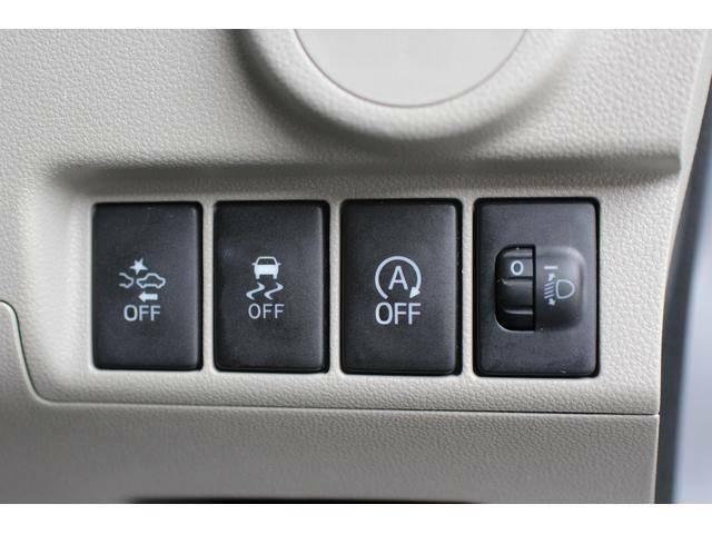 【各種スイッチ類】運転席インパネ下部
