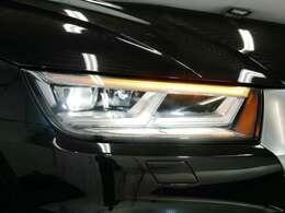 マトリクスLEDヘッドライト(ダイナミックターンインディケーター)☆関東最大級のAudi・VW専門店!豊富な専門知識・経験で納車後もサポートさせていただきます☆