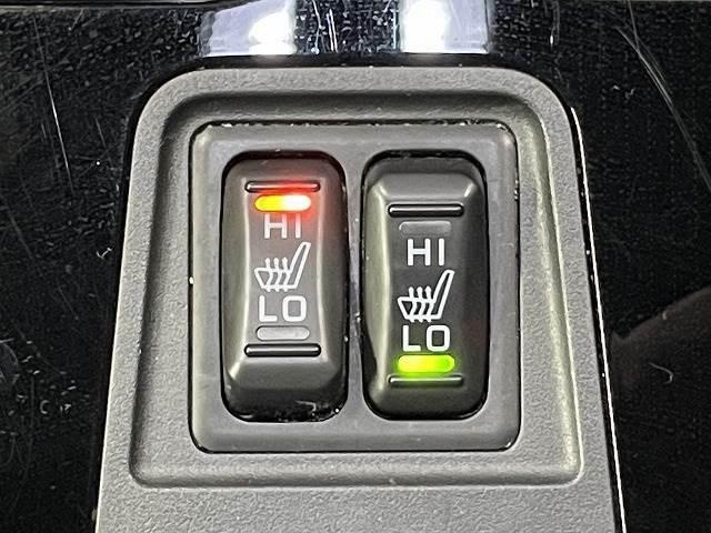 あったら便利機能の【シートヒーター】冬場はエアコンの温度設定を低めにでき、身体の芯からポカポカになります。
