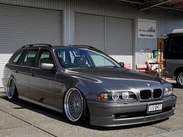 BMW 5シリーズツーリング 530i ハイライン エアサスキット WORK19