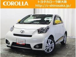 トヨタ iQ 1.3 130G レザーパッケージ TOYOTA認定中古車 当社下取ワンオーナー