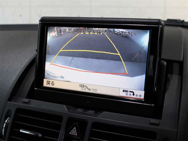 バックカメラ、クリアランスソナー装備です。駐車、後退も安心して行えます。