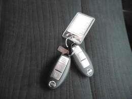 ポケットやバッグにいれたままでドアロックやアンロックそしてエンジンのスタートもできる、インテリジェントキー