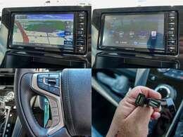 KENWOOD製7インチフルセグメモリーナビ「MDV-D706BTW」付き!ステエアリングリモコン・USB・Bluetooth対応のスグレモノ