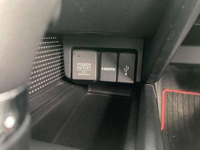 USBならびにHDMIもついております