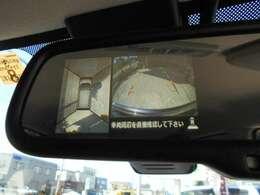 アラウンドビューモニター!バック・サイド・フロントカメラで駐車時も安心♪