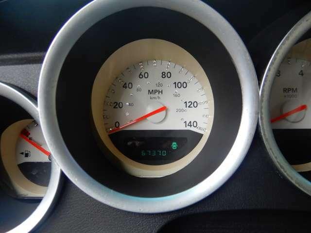 78000kmの時にメーター故障の為、58000kmのメーターに交換しています。