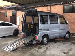 日産 クリッパー チェアキャブ 福祉車両 4WD スロープタイプ リアヒーター