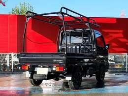 主要装備☆届出済未使用車・JERRARD×マッドウォリアー14AW・HARD CARGOキャリア・障害物センサー・スマートアシストIIIt・4WD