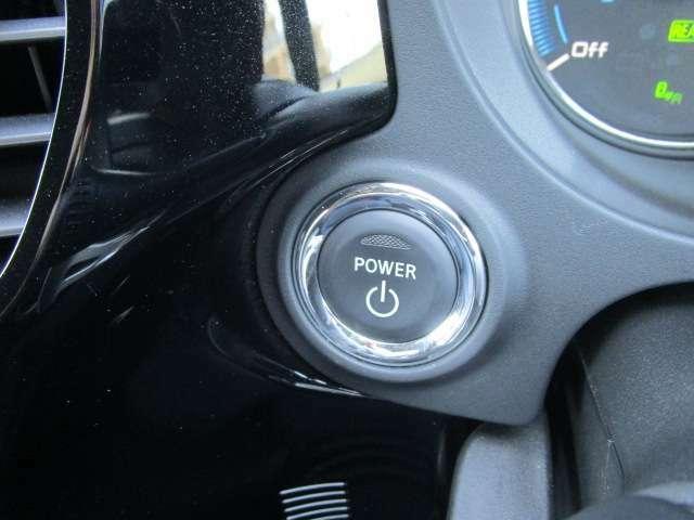 エンジンプッシュスタートスイッチです!スマートキーを所持して、ボタンを押すことでエンジンが始動できます。