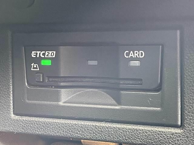 ビルトインETC2.0装備。高速道路の使用の多い方には欠かせない装備です。