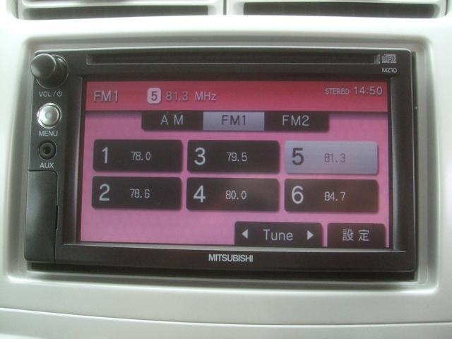 ナビ ワンセグTV AUX入力端子 ラジオ CD