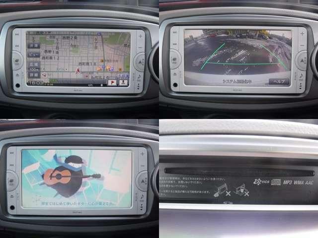 メモリーナビゲーション フルセグテレビ バックカメラが付いています!!