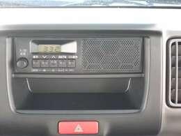 FM・AMラジオが装備されてます。