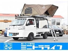 ダイハツ ハイゼットトラック 660 スタンダード 3方開 4WD アウトドア仕様 5MT 4WD MLJアルミ