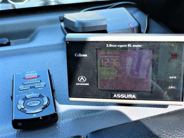 ユピテルレーダー!その他にドライブレコーダーも付いてます。