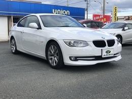 BMW 3シリーズクーペ 320i ワンオーナー 17インチアルミ HDDナビ