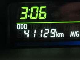 走行距離はおよそ41,000Kmです。