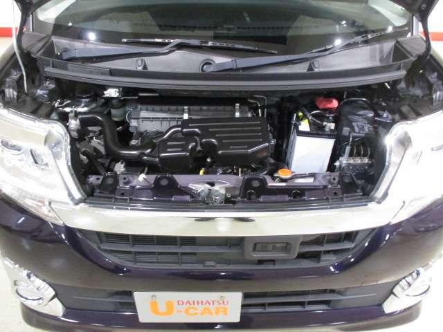 エンジンル-ム(タ-ボエンジン・ABS装備)