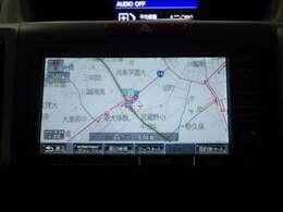 【インターナビリンクアップフリー対応】機能盛り沢山のホンダ純正ナビに通信機能が付いてより便利に!ホンダが配信する交通情報や天気情報をリアルタイムに表示します。