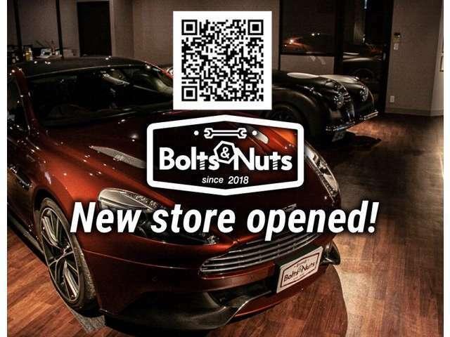 Bolts&Nuts公式ライン、公式インスタグラムもぜひ登録してくださいね♪ラインは上記QRコードにて。インスタグラムはbolts_nuts.hatada_tsubasaにて検索よろしくお願いします!