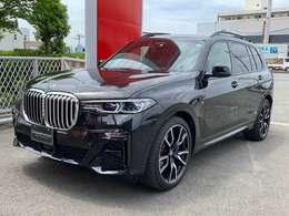 2019年式 BMW X7 xDrive35d Mスポーツ スカイラウンジパノラマガラスサンルーフ ウェルネスパッケージ リアエンターテイメントシステムプロフェッショナル 2列目コンフォートシート 純正22AW