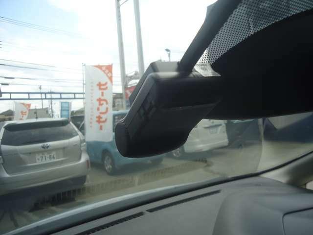 ドライブレコーダー付です。まさかのトラブルにもOKです。