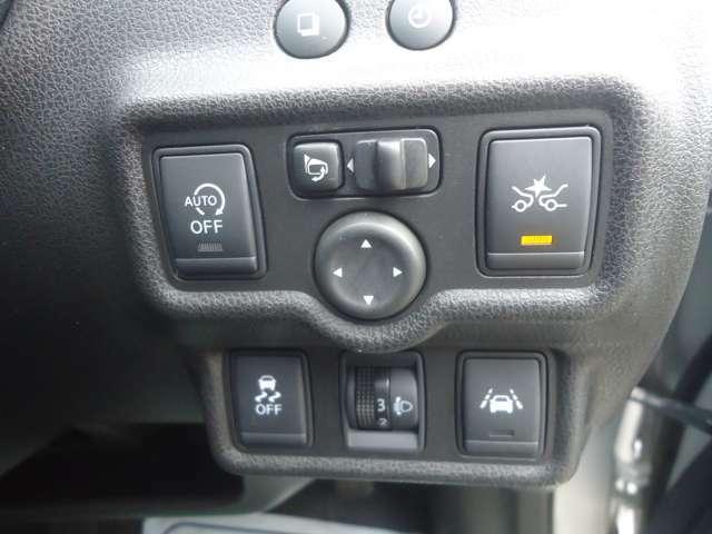 アイドリングSTOP機能付きです無駄な燃料消費も抑えられます。安全支援装備もバッチリです