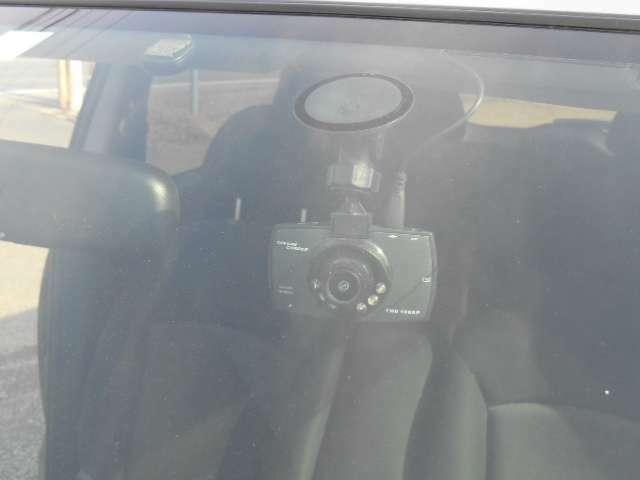 安心のドライブレコーダー付